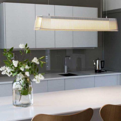 Secto Designin Owalo-led on loistava valaisin pitkänomaisen pöydän päälle niin ruokatilaan kuin toimistoihin.